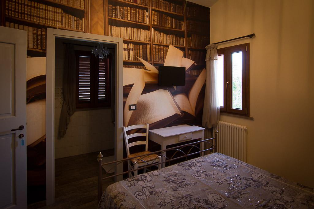 Camera del Bibliotecario Agriturismo le Capannacce Urbania