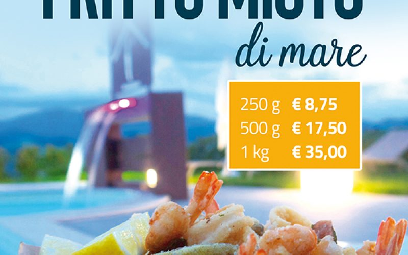 Fritto misto a bordo piscina